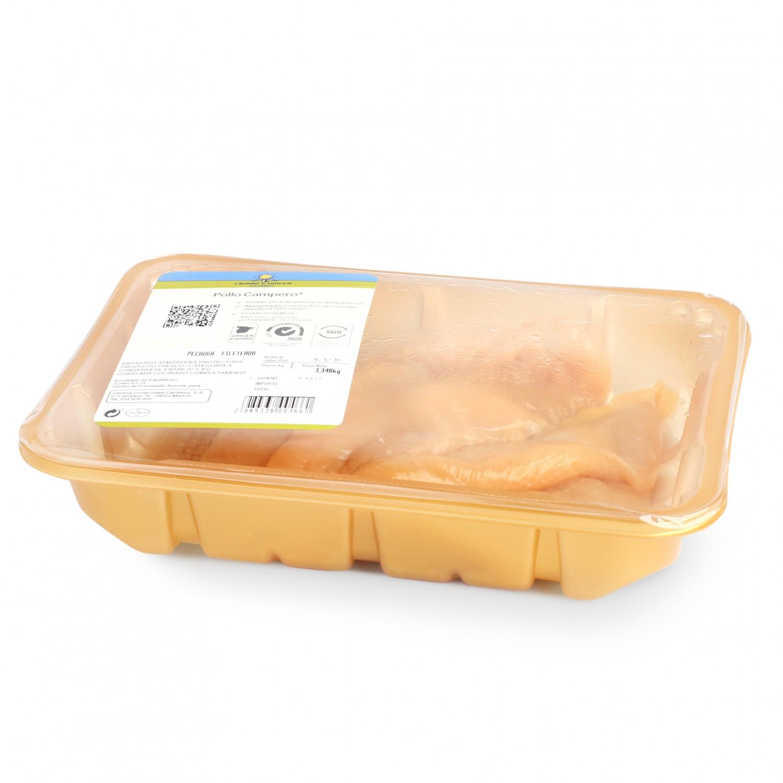 Escalope de Pollo Campero Calidad y Origen Carrefour 500 g aprox