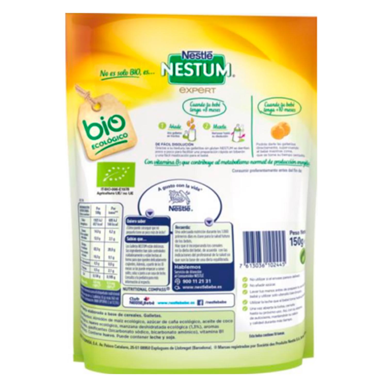 Galletitas ecológicas Nestlé Nestum sin gluten 150 g -