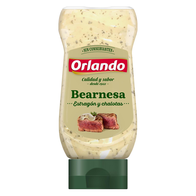 Salsa bearnesa Orlando envase 235 g.