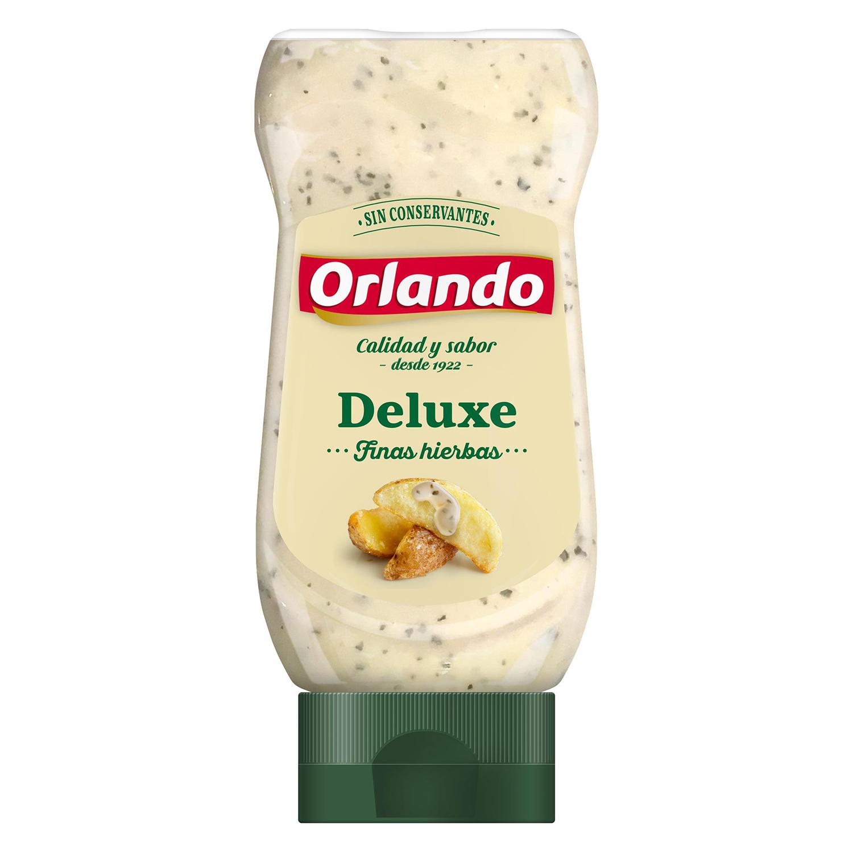 Salsa deluxe Orlando envase 235 g.