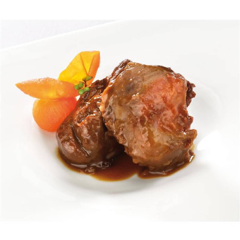 Carrillera de cerdo con salsa Nueva Cocina Mediterránea 1 kg aprox