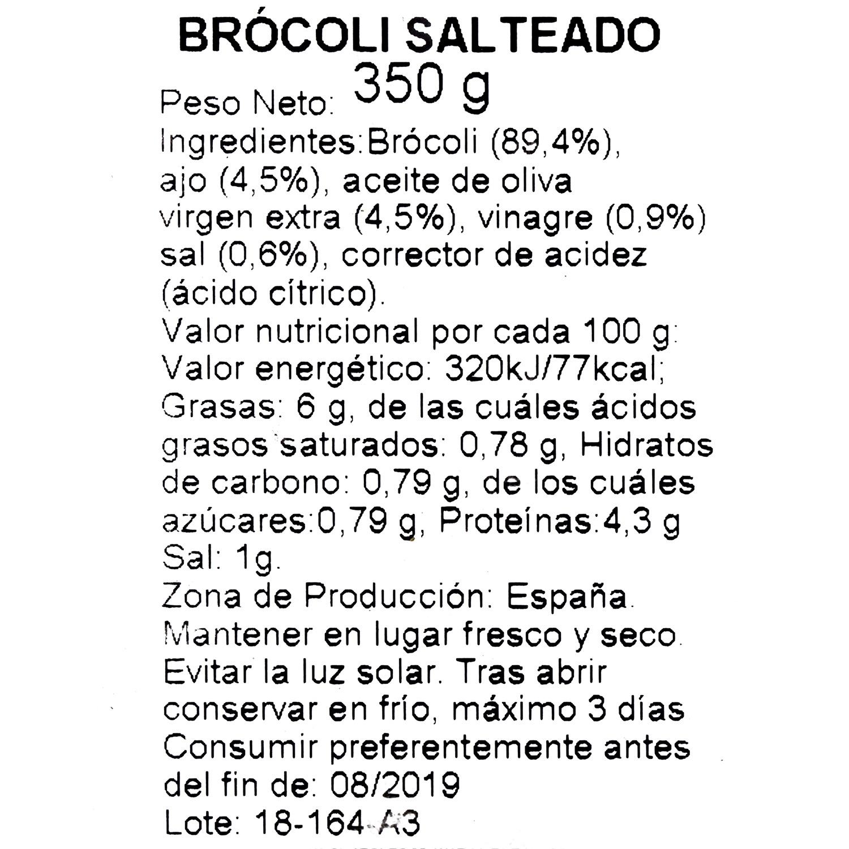 Brocoli salteado bj 350 g. - 3