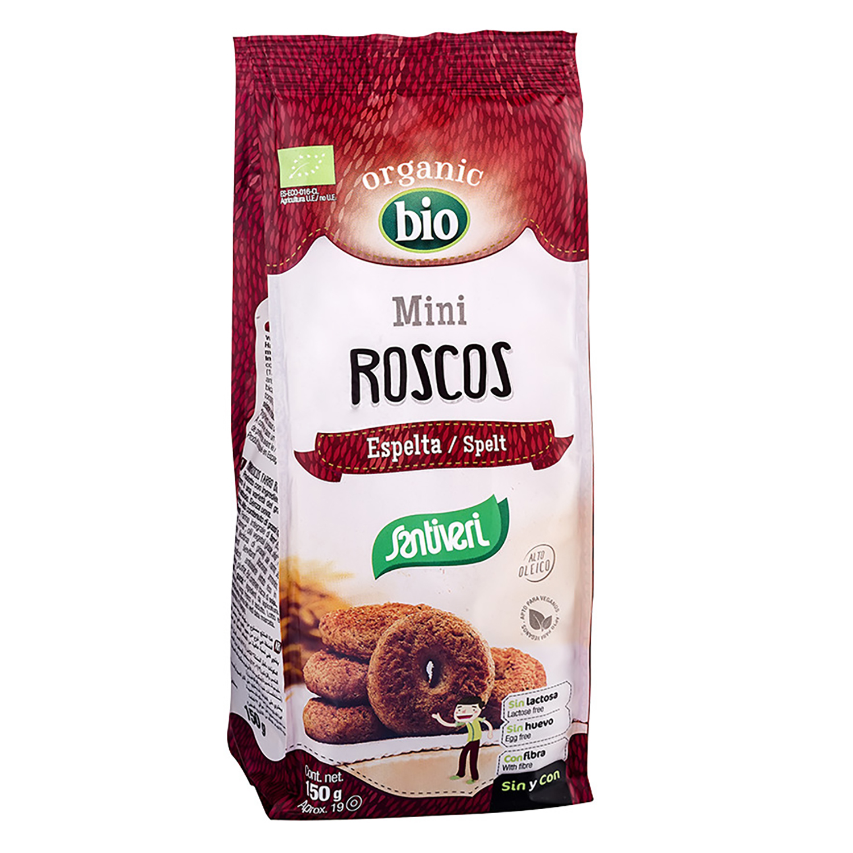 Galletas Roscos Santiveri 150 g.