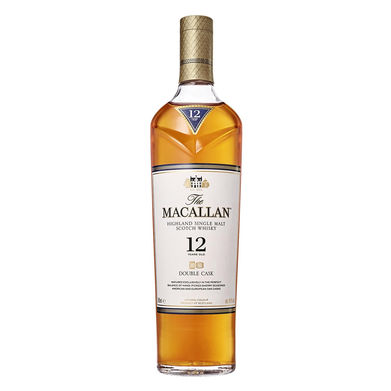 Whisky Macallan escocés 12 años 70 cl.