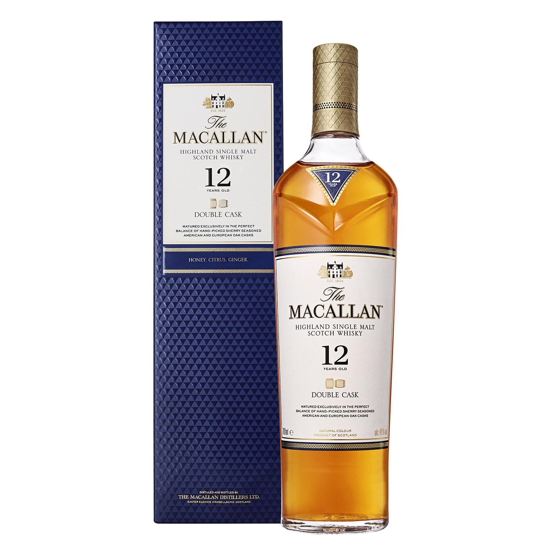 Whisky Macallan escocés 12 años 70 cl. -