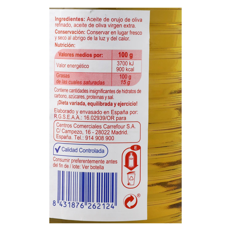 Aceite de orujo de oliva Producto blanco 1 l. -