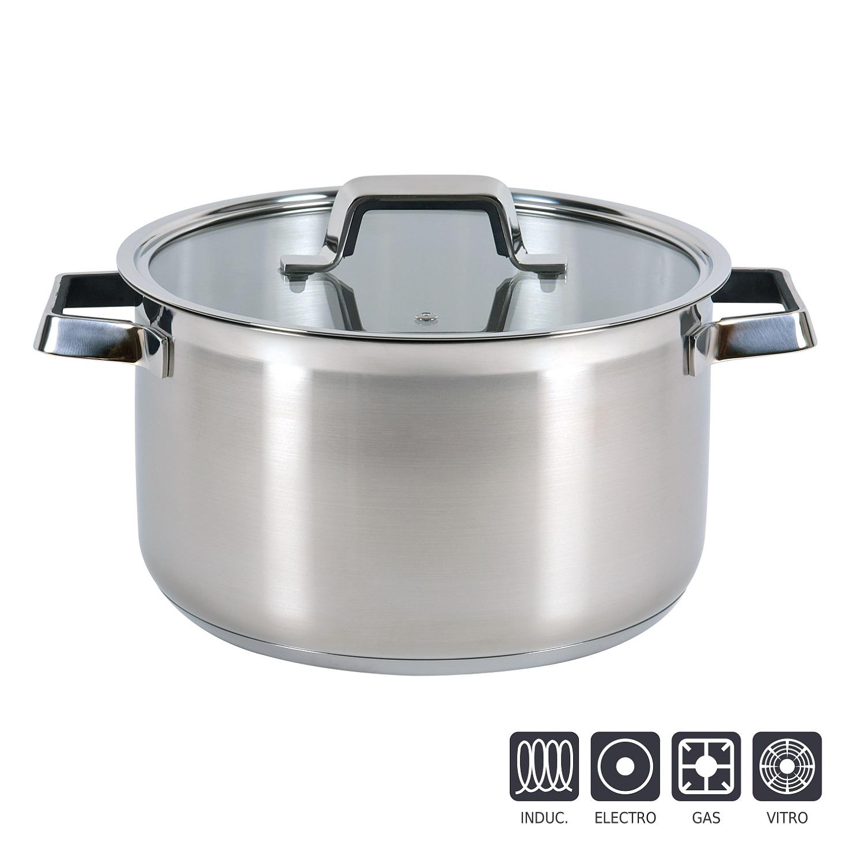 Bateria de Cocina Clásica  Pulido espejo -