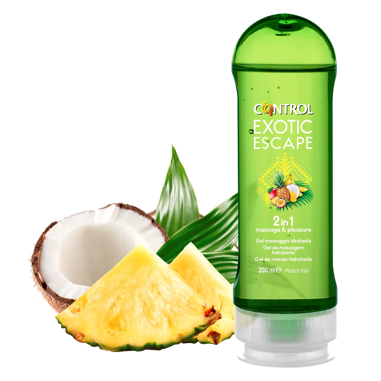 Gel de masaje hidratante Exotic Escape Control 200 ml. -