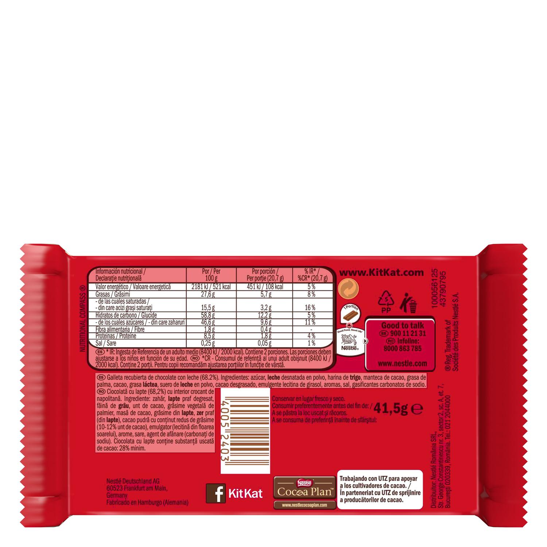 Kit-Kat extra milk & cocoa -