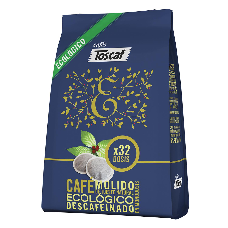 Café monodosis natural descafeinado Bio