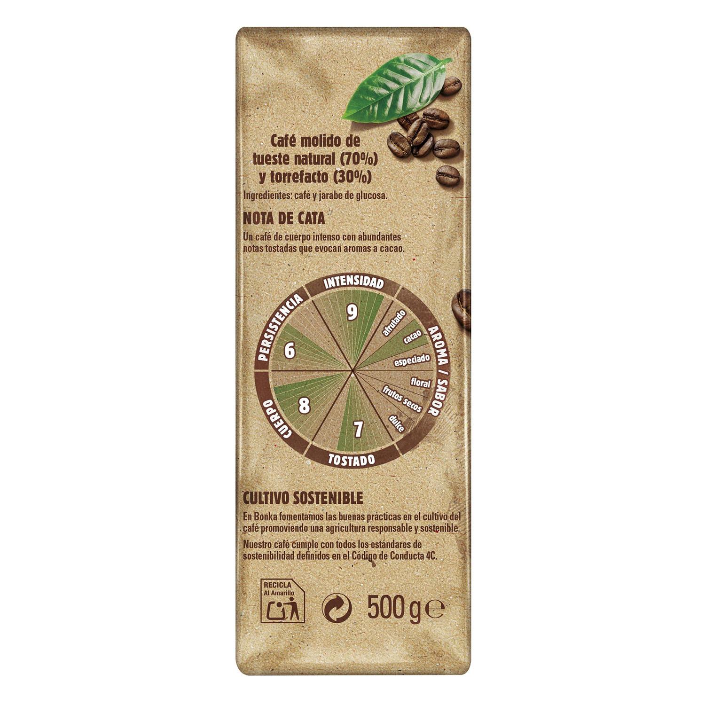 Café molido mezcla cultivo sostenible Nestlé Bonka pack de 2 unidades de 500 g. - 2