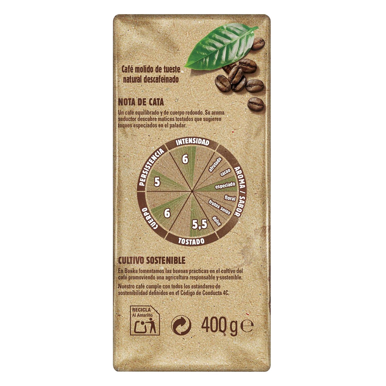 Café molido descafeinado del trópico - 2