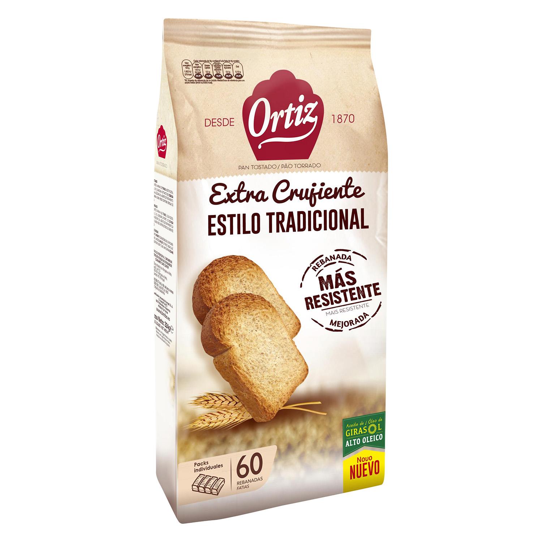 Pan tostado tradicional
