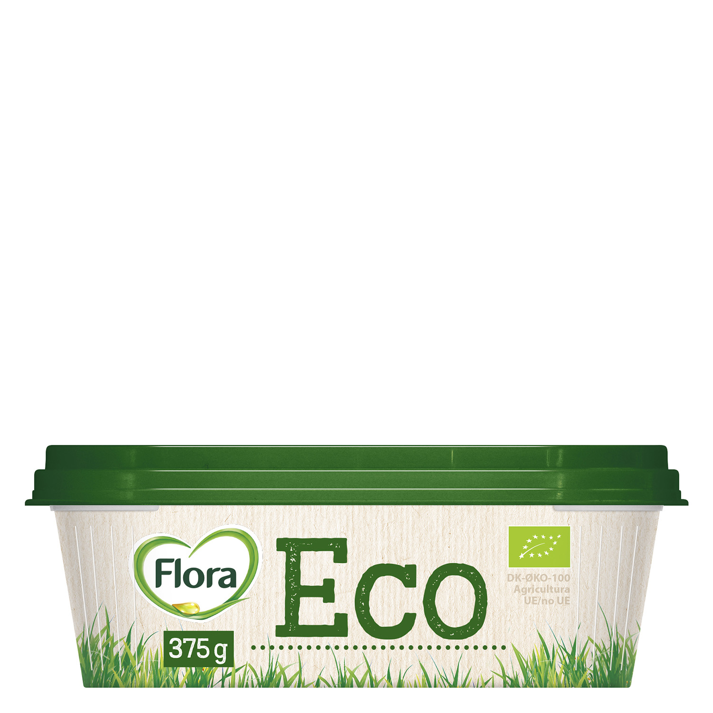 Margarina ecológica Flora 375 g.