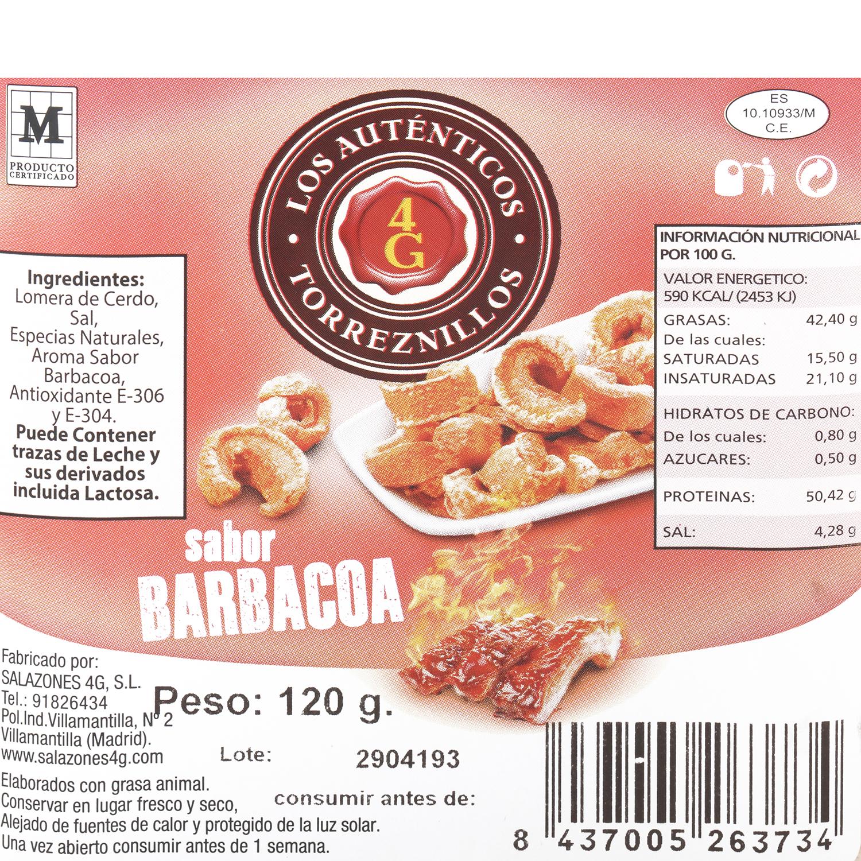 Torreznos sabor barbacoa 120 g - 3