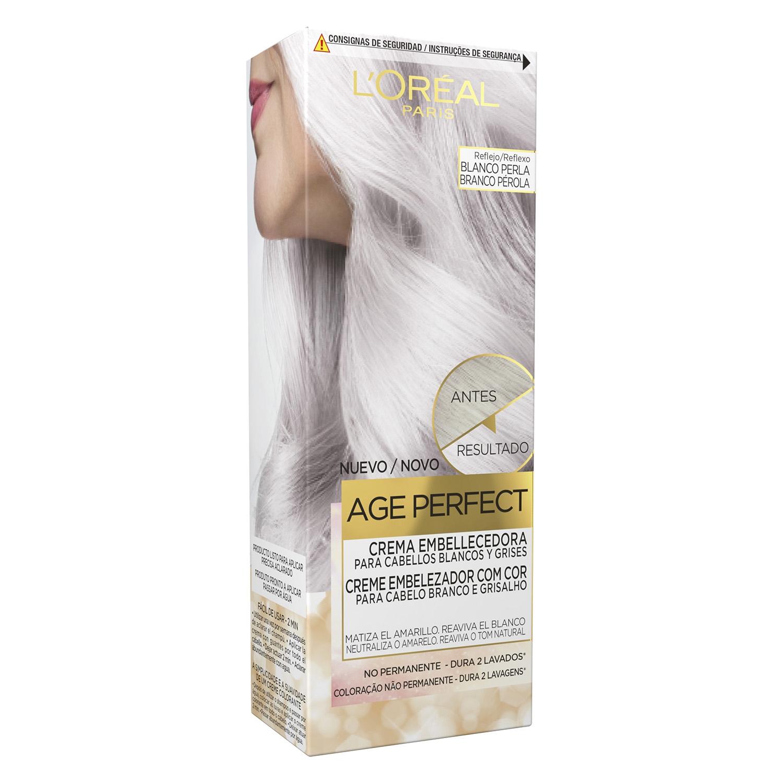 Crema embellecedora no permanente Age Perfect Blanco Perla