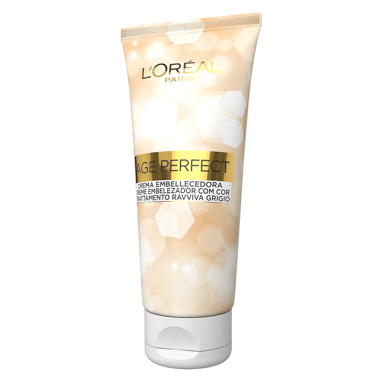 Crema embellecedora no permanente Age Perfect Blanco Perla -