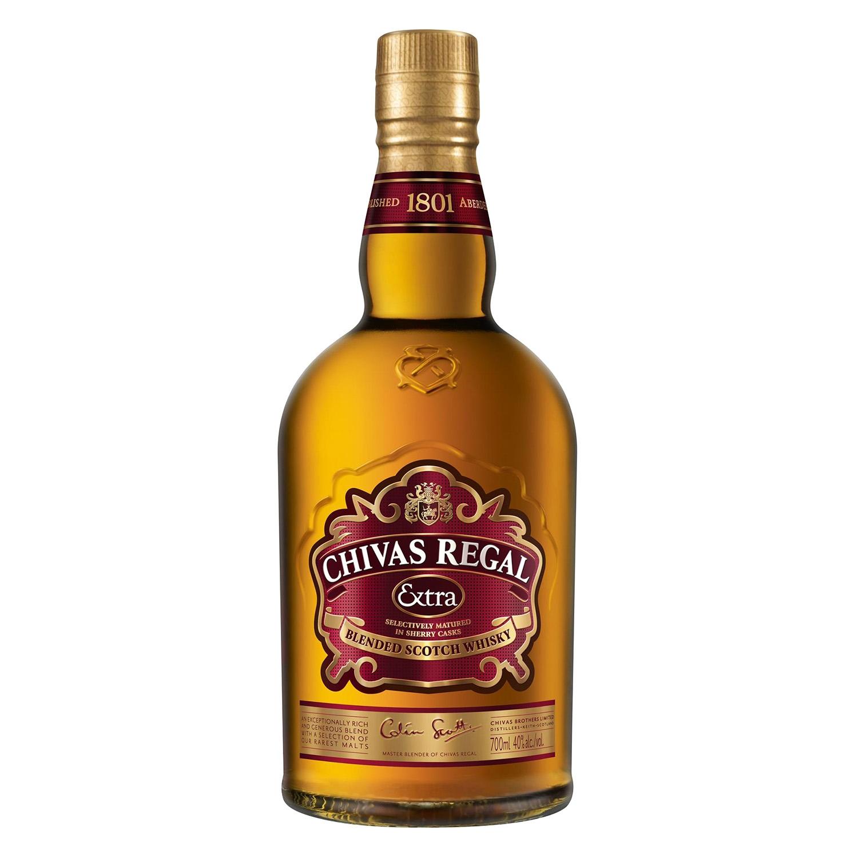 Whisky Chivas Regal escocés extra 70 cl.