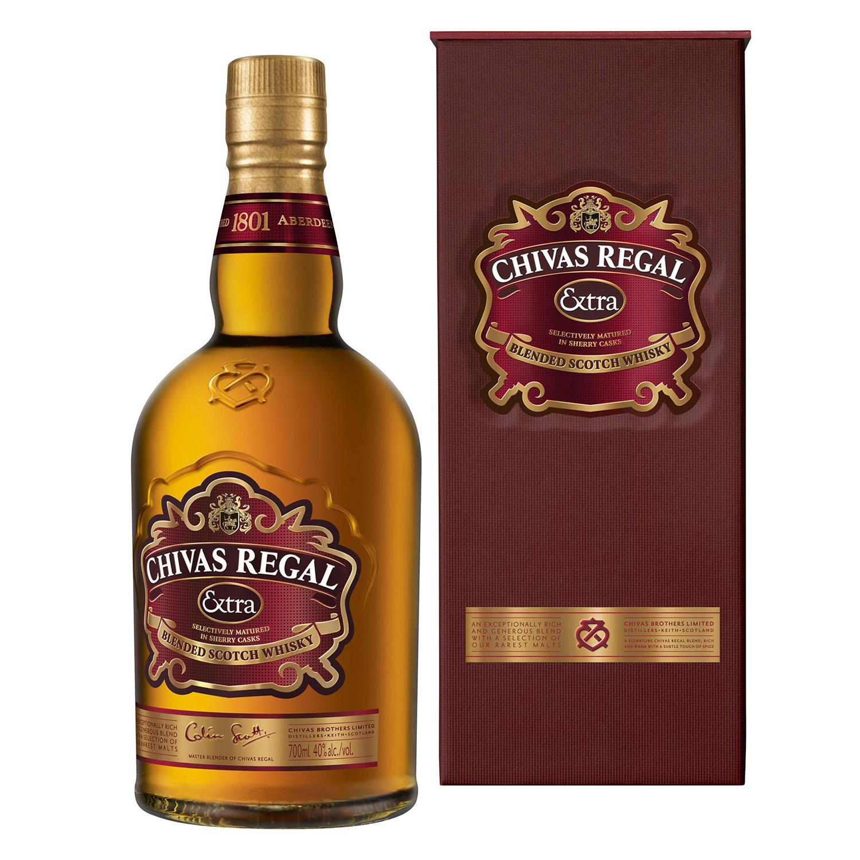 Whisky Chivas Regal escocés extra 70 cl. -
