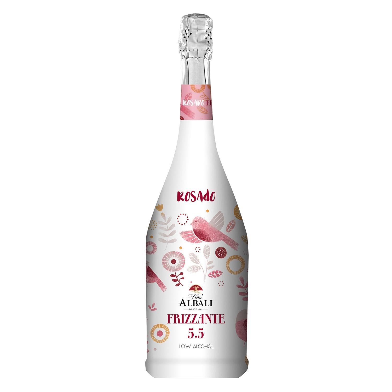 Vino Frizzante 5.5 rosado
