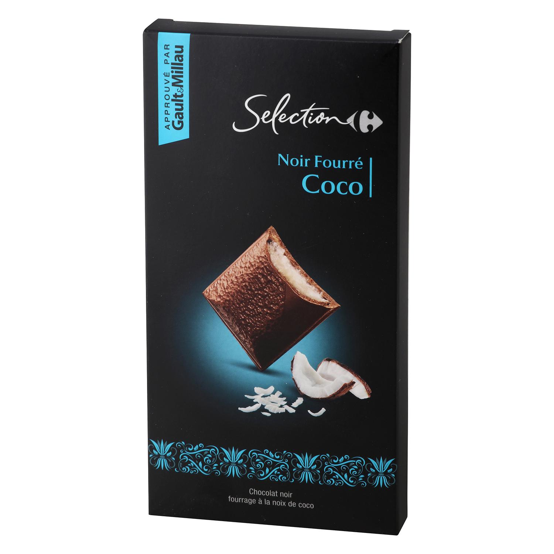 Chocolate negro relleno de coco carrefour selecci n - Relleno nordico carrefour ...