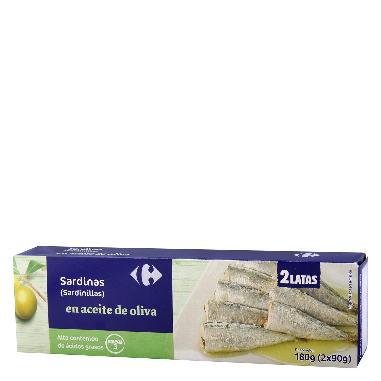Sardinillas en aceite de oliva Omega 3