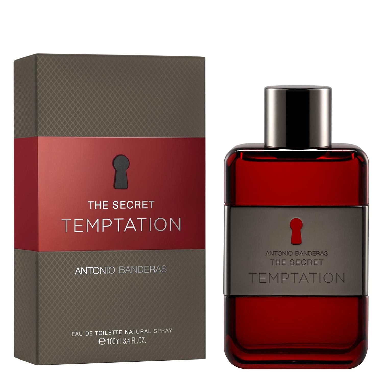 Agua de colonia Top Secret Temptation Antonio Banderas 100 ml.