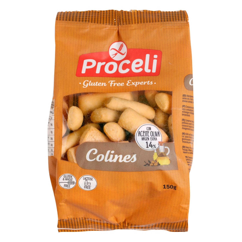 Colines Proceli sin gluten 150 g.