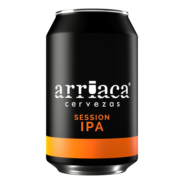 Cerveza Arriaca Session IPA lata 33 cl.