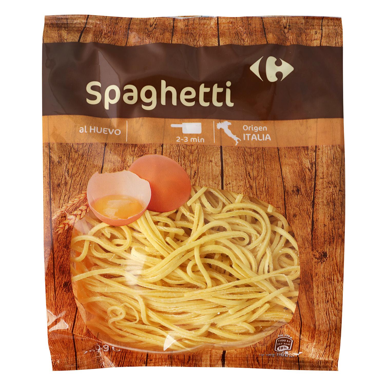 Spaghetti al huevo Carrefour 250 g.