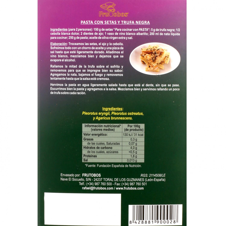 Combinado setas para pasta Frutobos bandeja 200 g - 3