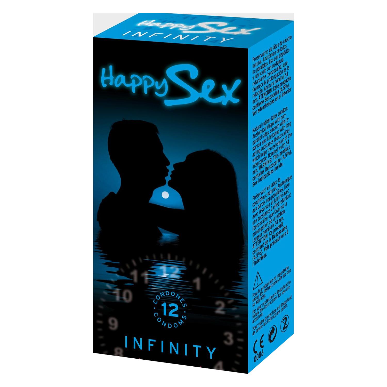 Preservativos Infinity 4900056 12 ud.