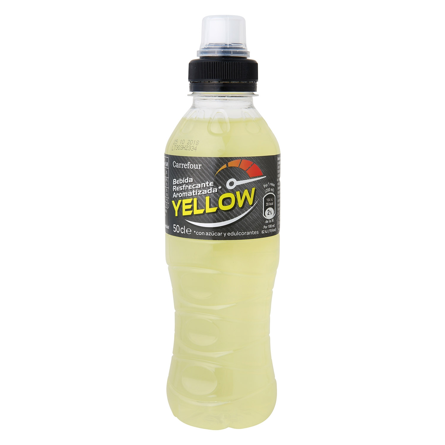 Bebida Isotónica Carrefour Yellow botella 50 cl.