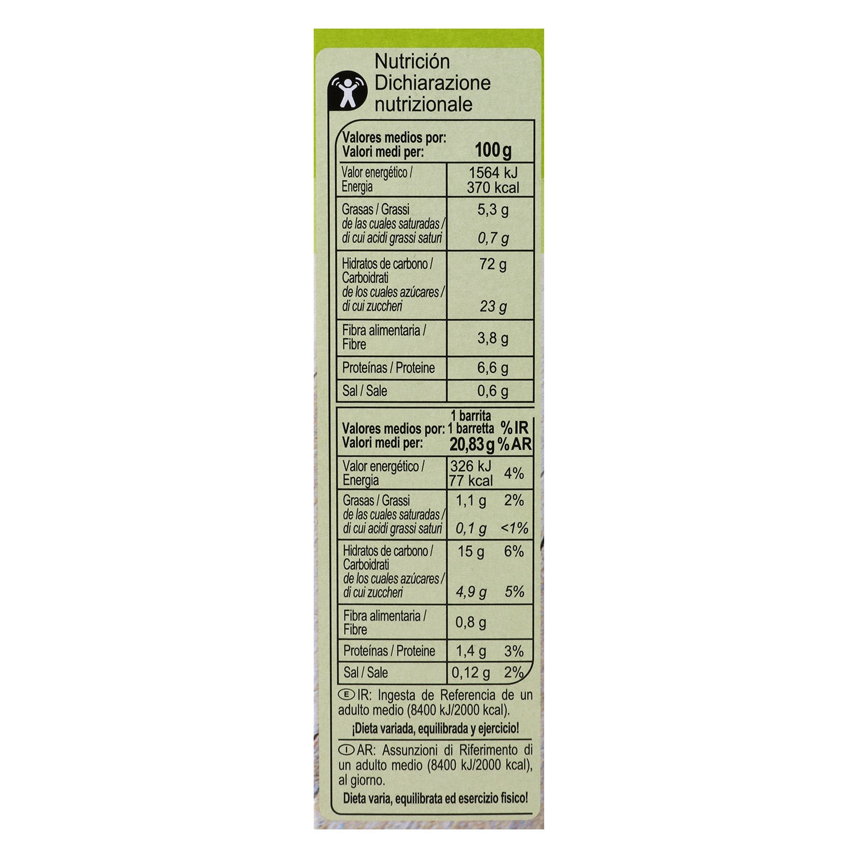 Barritas de cereales con arándanos rojos - 2