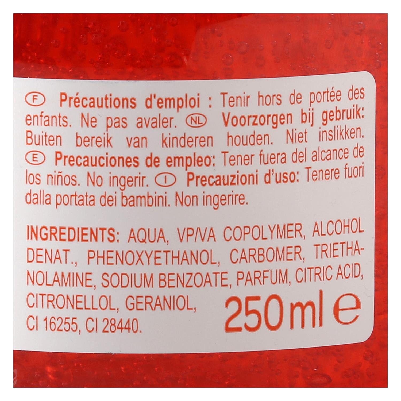 Gel fijador extra fuerte Producto blanco 250 ml. -