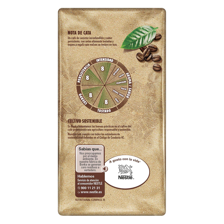 Café molido natural para cafetera italiana Nestlé Bonka 250 g. -