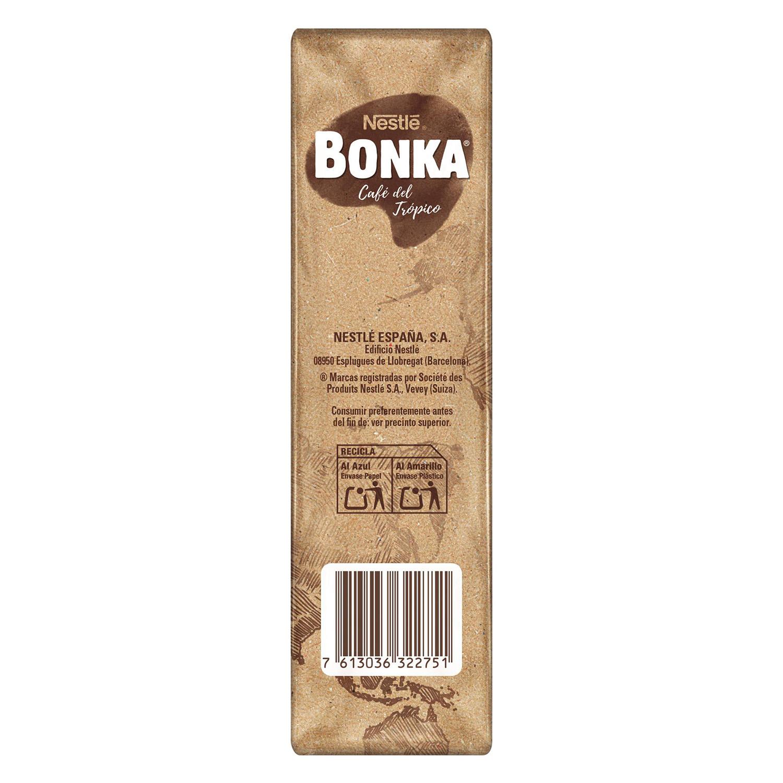 Café molido natural para cafetera italiana Nestlé Bonka 250 g. - 3