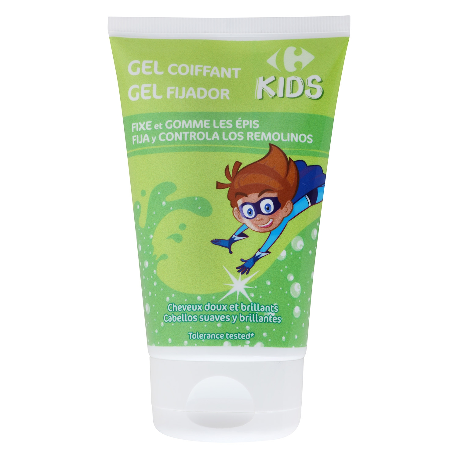 Gel fijador kids Carrefour 125 ml.