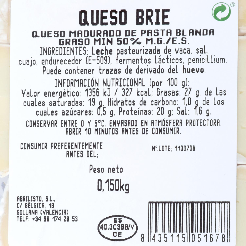 Queso brie especial baguette Juan Luna 150 g - 2