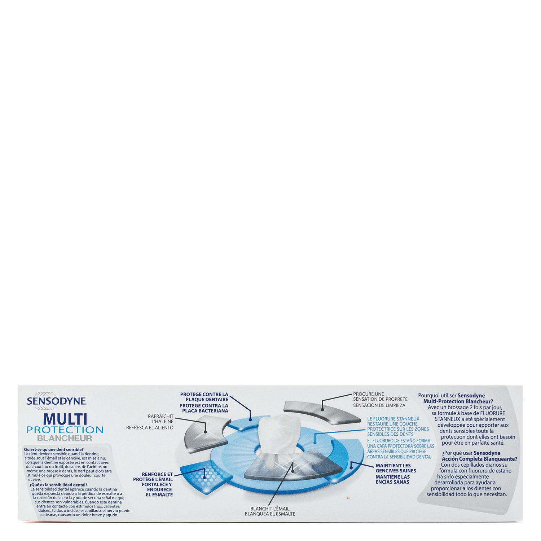 Dentífrico para dientes sensibles Acción Completa Blanqueante Sensodyne 75 ml. - 3