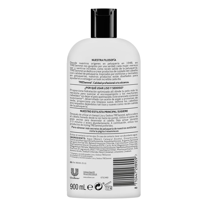 Acondicionador Liso y Sedoso Tresemmé 900 ml. -