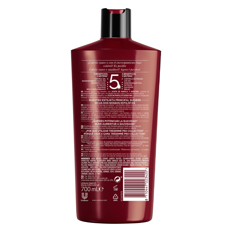 Champú Color Keratina Tresemmé 700 ml. -