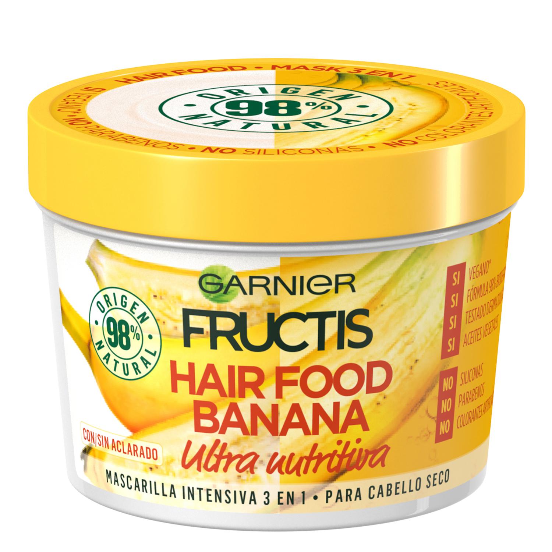 Mascarilla 3 en 1 Hair Food Banana Ultra nutritiva Para cabello seco