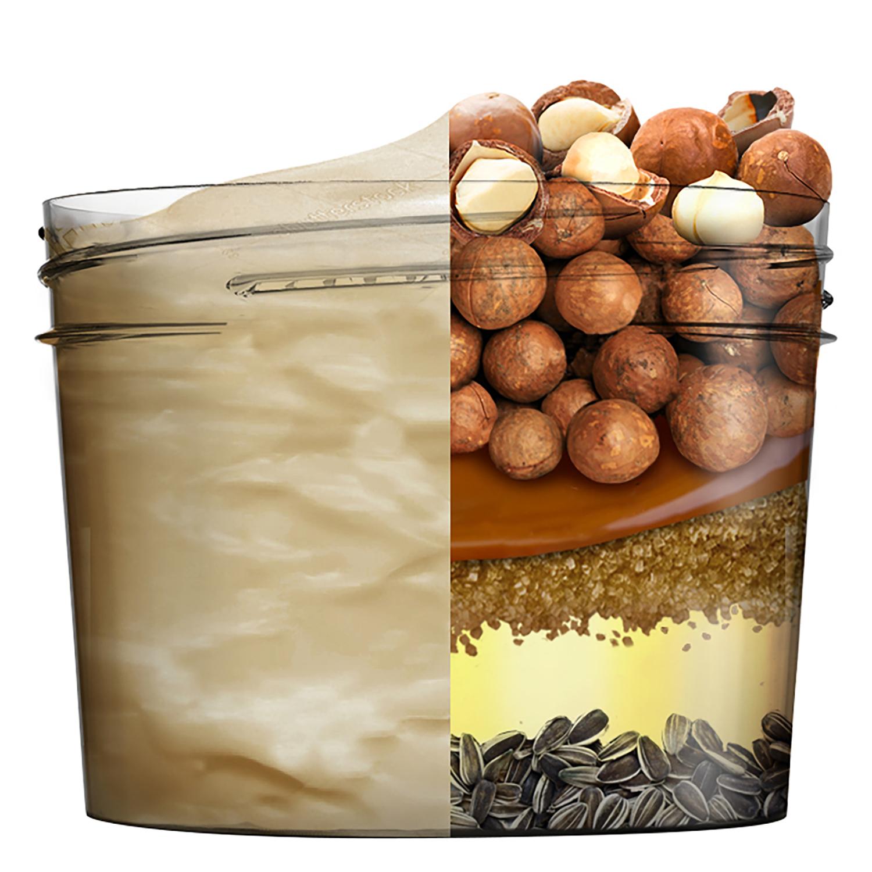Mascarilla capilar 3 en 1 Hair Food Macadamia Alisadora Para cabello seco y revelde Garnier Fructis 390 ml. -