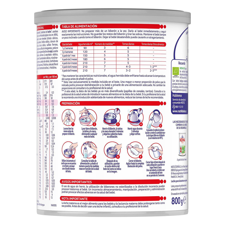 Leche para lactantes Premium 1 bio - 2