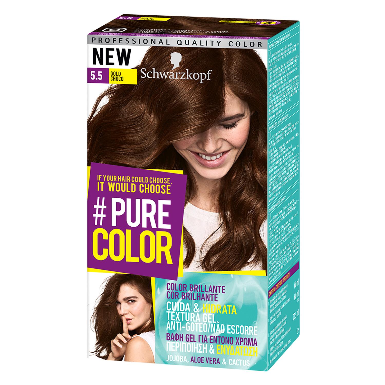 Tinte #Pure Color 5.5 gold choco