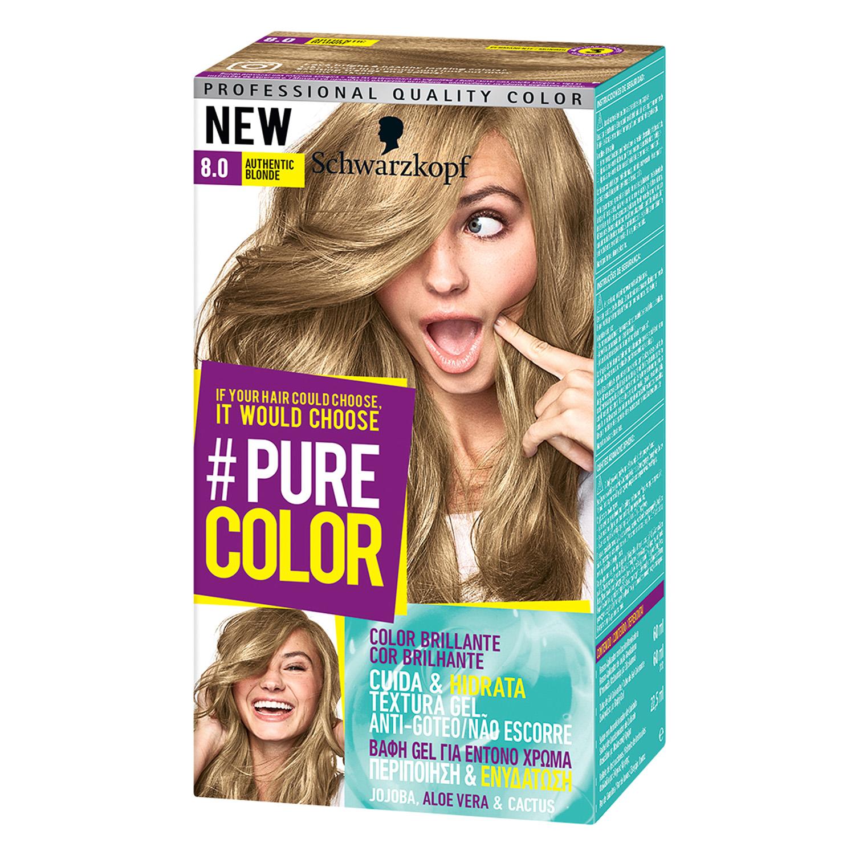 Tinte #Pure Color 8.0 authentic blonde