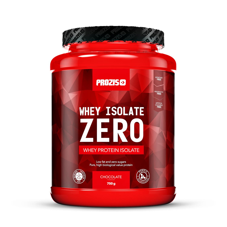 Complemento alimenticio Prozis Whey Isolate zero sabor chocolate 750 g.