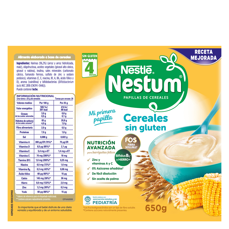 Papilla de cereales sin gluten - 2