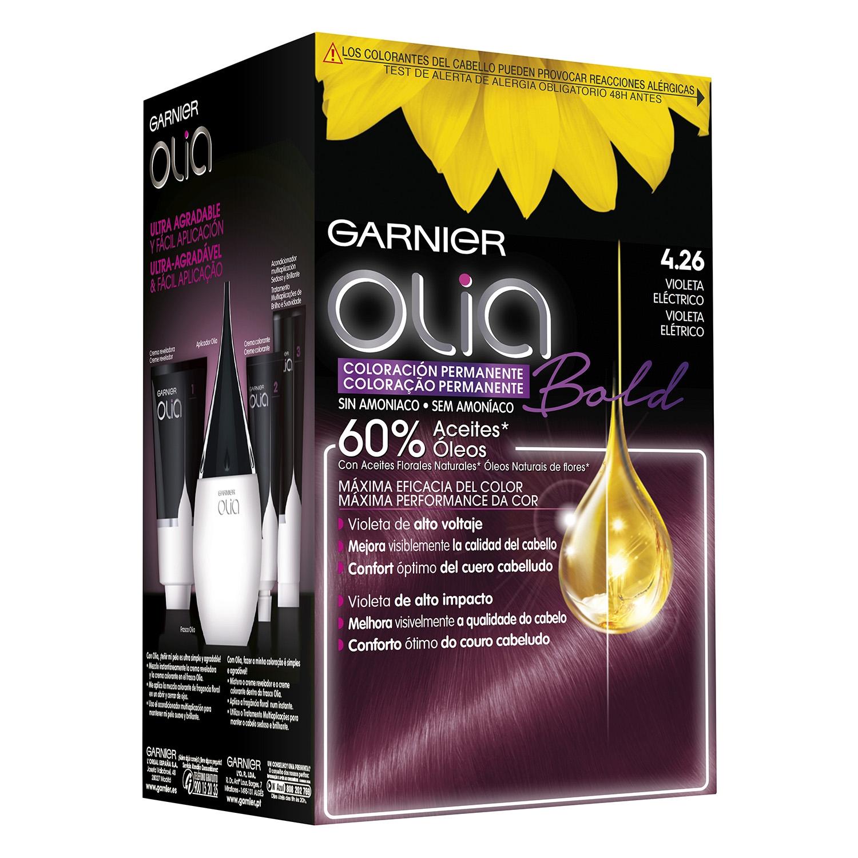 Tinte Bold 4.26 Violeta eléctrico Garnier-Olia - Carrefour ...